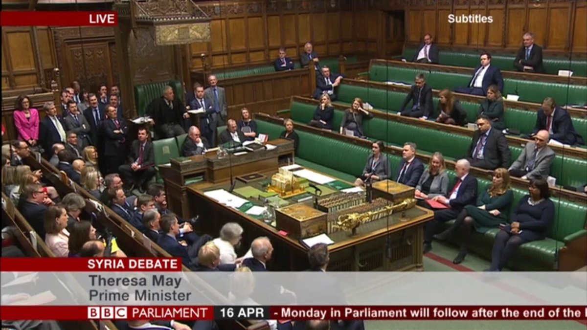 Empty benches on one side.  It's a shame that Labour MPs didn't support the SNP vote on Syria. https://t.co/LbcuNsNLRM