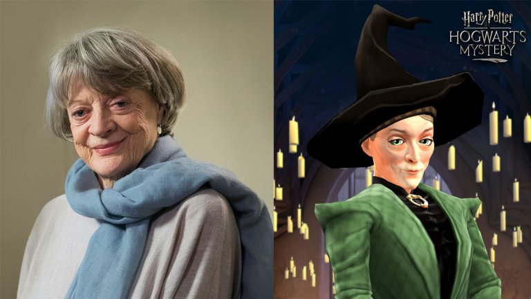 Maggie Smith, Michael Gambon to reprise roles for Harry Potter mobile game