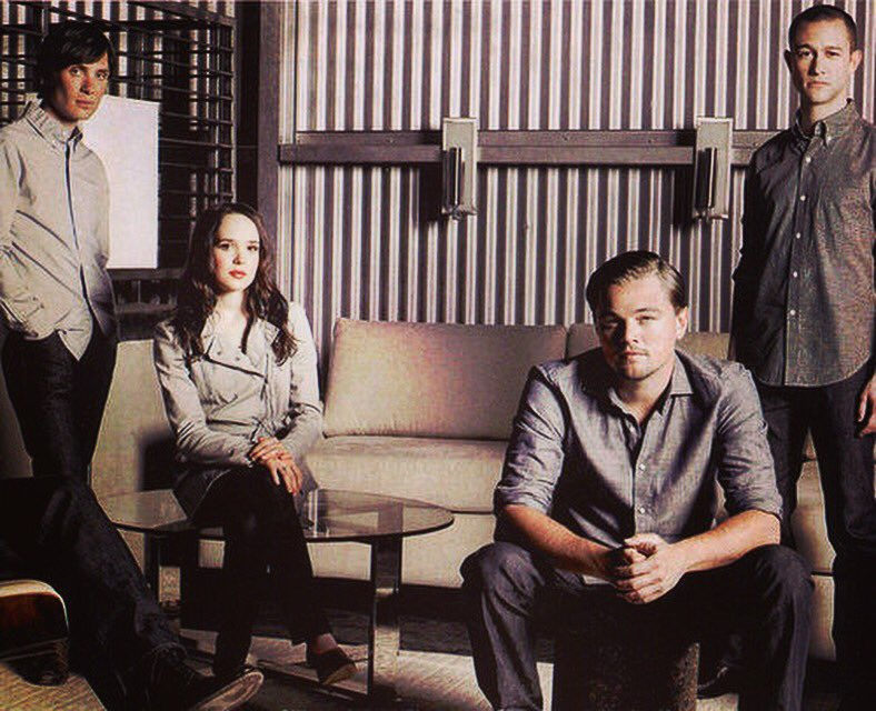 Inception photo shoot w/ Cillian Murphy, @EllenPage and @LeoDiCaprio  #tbt  https://t.co/ajr0dypD2k https://t.co/grspG8EEov