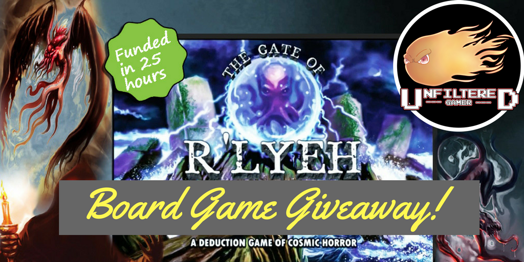 RT @TyNapier2: #Giveaway 4 #GateofRlyeh by @DPHGames! @UnfilteredRnG #boardgame #Cthulhu #Deduction #game https://t.co/VK4zrrU51e https://t…