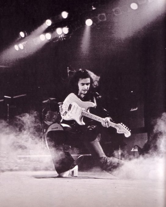 Happy 73rd birthday Ritchie Blackmore!