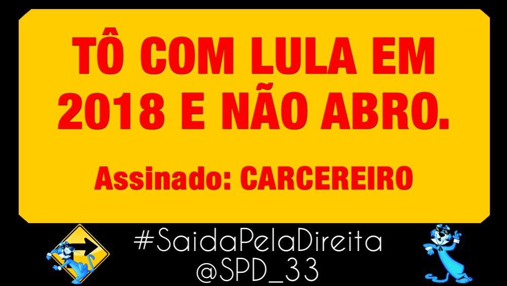 ��Tem gente que tá com Lula e não abre...  #LulaNaCadeia #LulaPresoHoje #LulaNaCadeiaHoje https://t.co/JCiyHQtWnO
