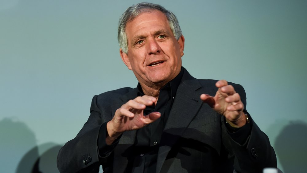 CBS chief Leslie Moonves' compensation dipped just a bit in 2017 to $69.3 million
