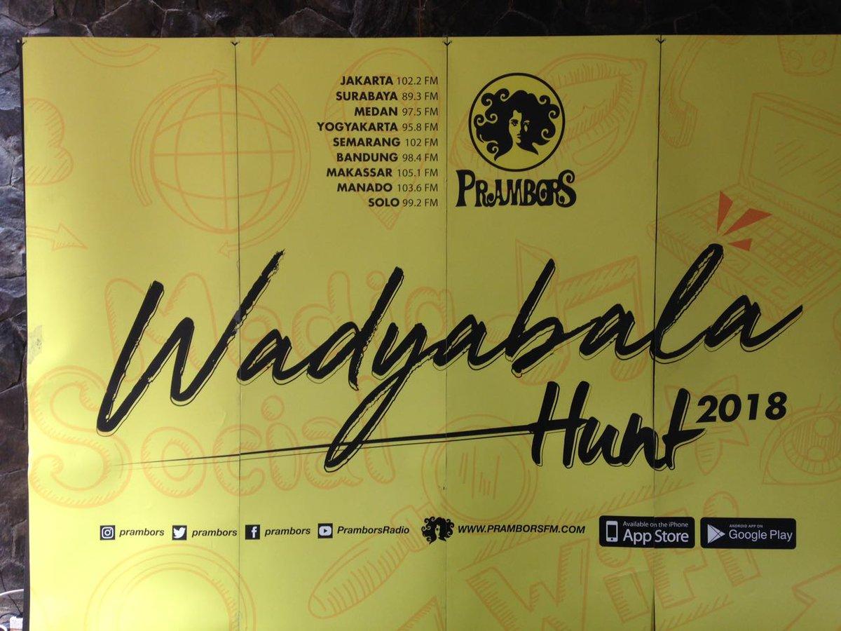#WadyabalaHunt2018