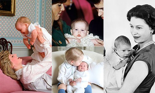 How cute were Kate Middleton, Prince William and Prince Harry as babies? See the pictures: