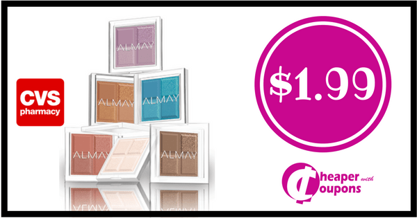 Almay Cosmetics ONLY $1.99 each at CVS (Starts 04/08) Go here:...