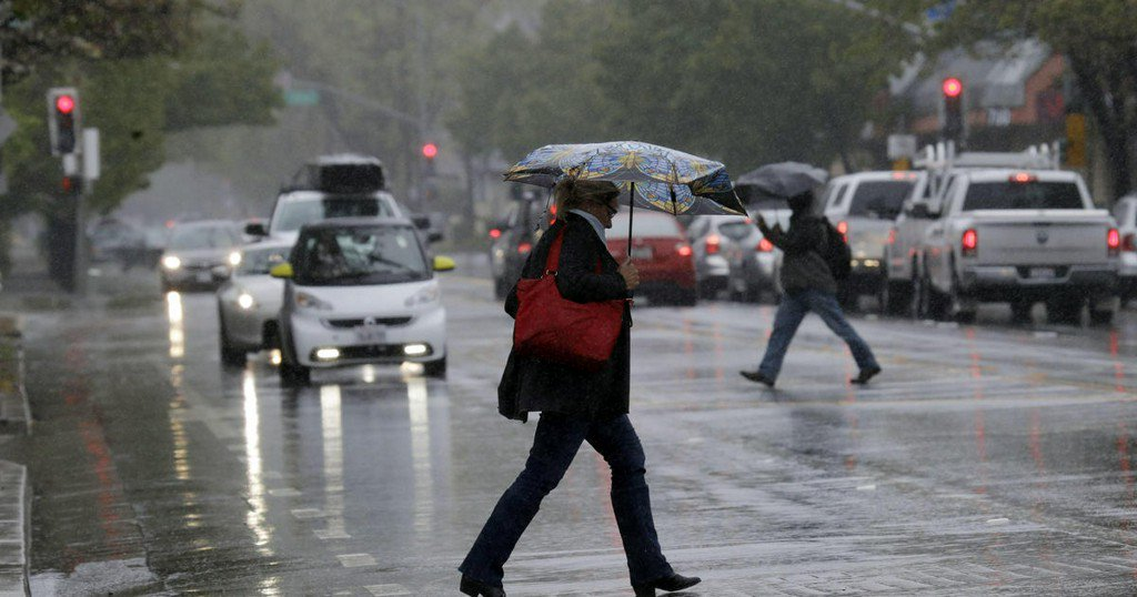 California storm: West Coast still drenched after second rainiest day since 1849 Gold Rush