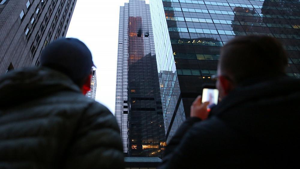 New York: man dies in Trump Tower fire