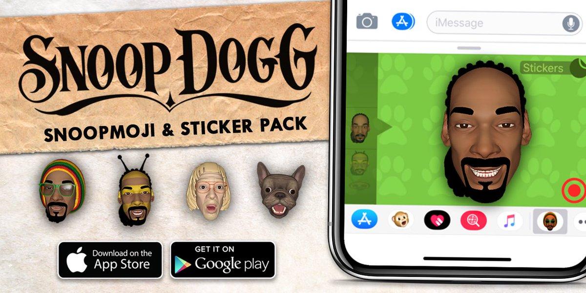 New animated #Snoopmoji n sticker pack available now ???????? @diGGital_doGG https://t.co/hiLx9lAZQJ https://t.co/tQkIRHPTRK