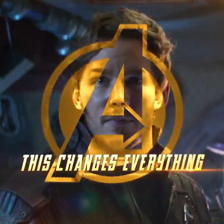 It's all been leading to this. @Avengers: #InfinityWar #StarLord https://t.co/ai6K7FWLZz
