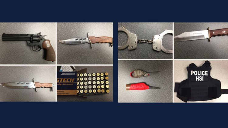 Body armor, knives, gun seized from stolen car; suspect arrested in NE Portland