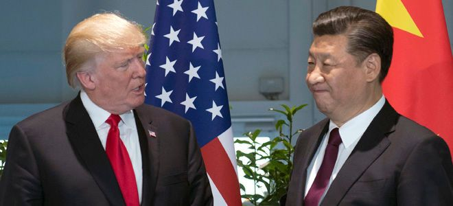 Amid trade fight, Trump says China will do the 'right thing'