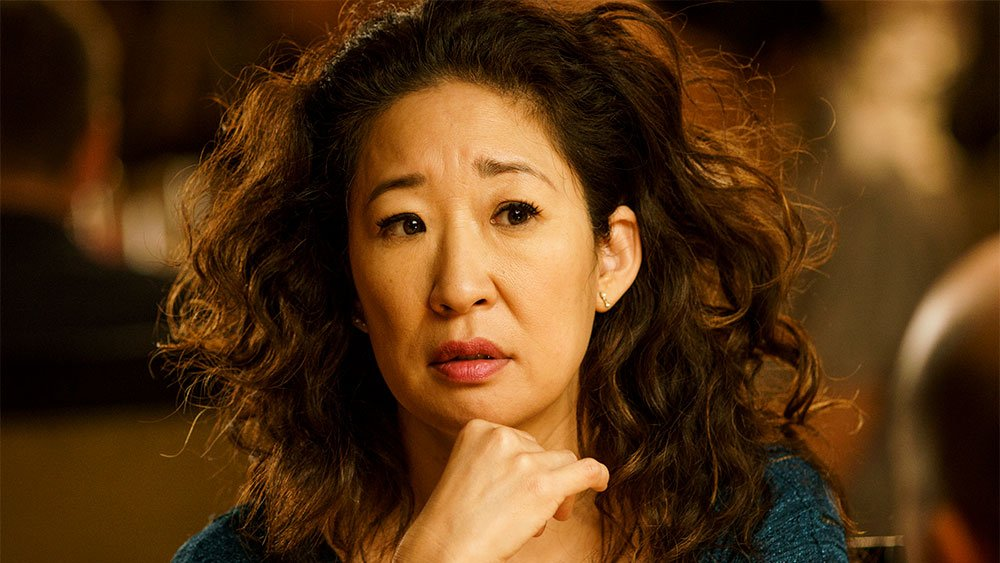 Sandra Oh on BBC America's KillingEve, which premiered Sunday night