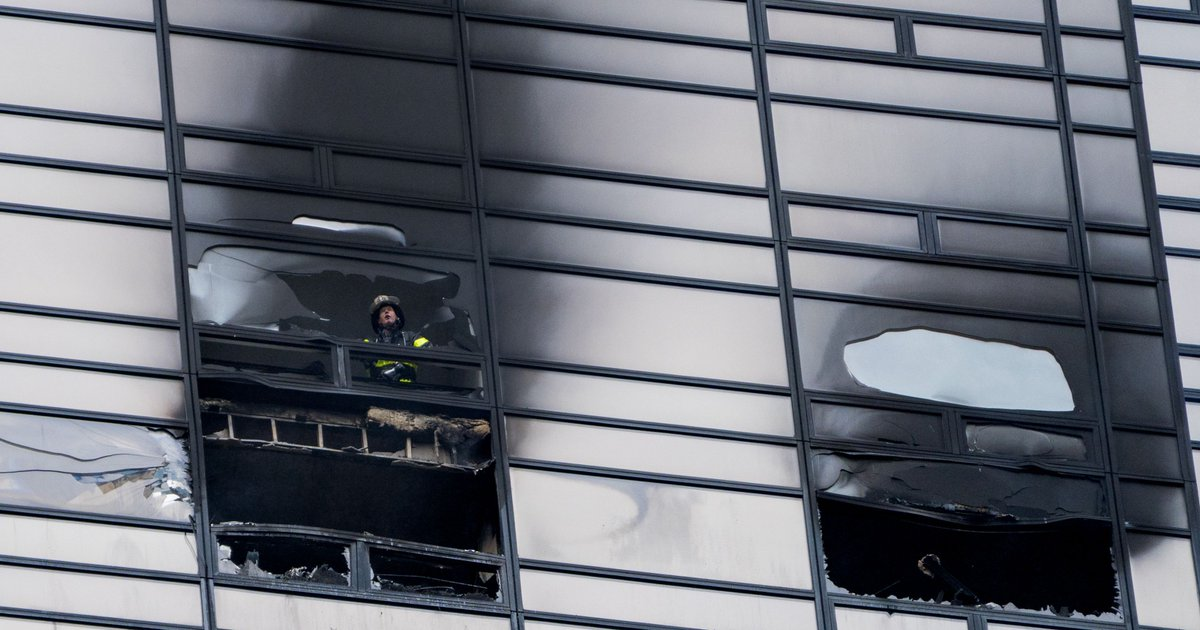 Fatal Trump Tower fire: No sprinkler system in apartments