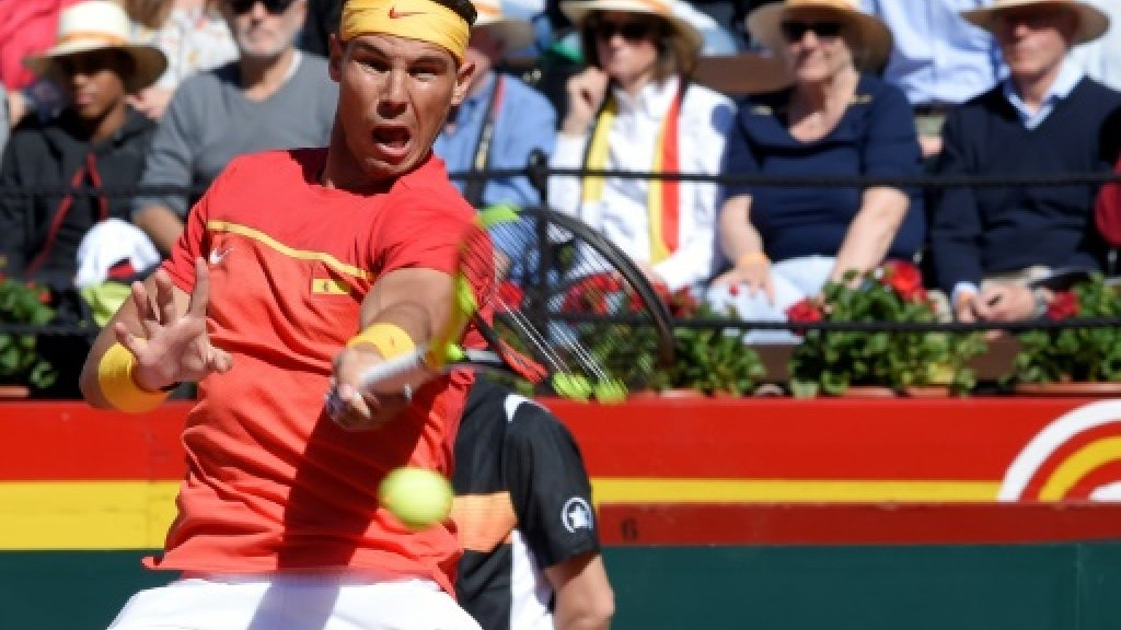 Nadal beats Zverev to set up Davis Cup decider with Germany