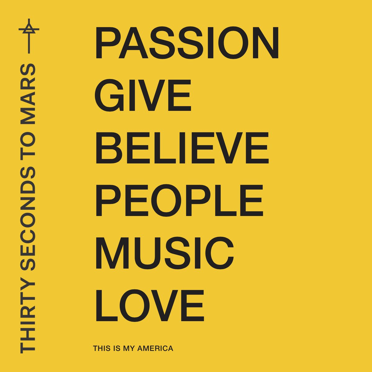RT @tphilipps: So many things make up #MyAmerica! I love this album. @30SECONDSTOMARS @JaredLeto #MarsAmerica https://t.co/HpRACV1IvM