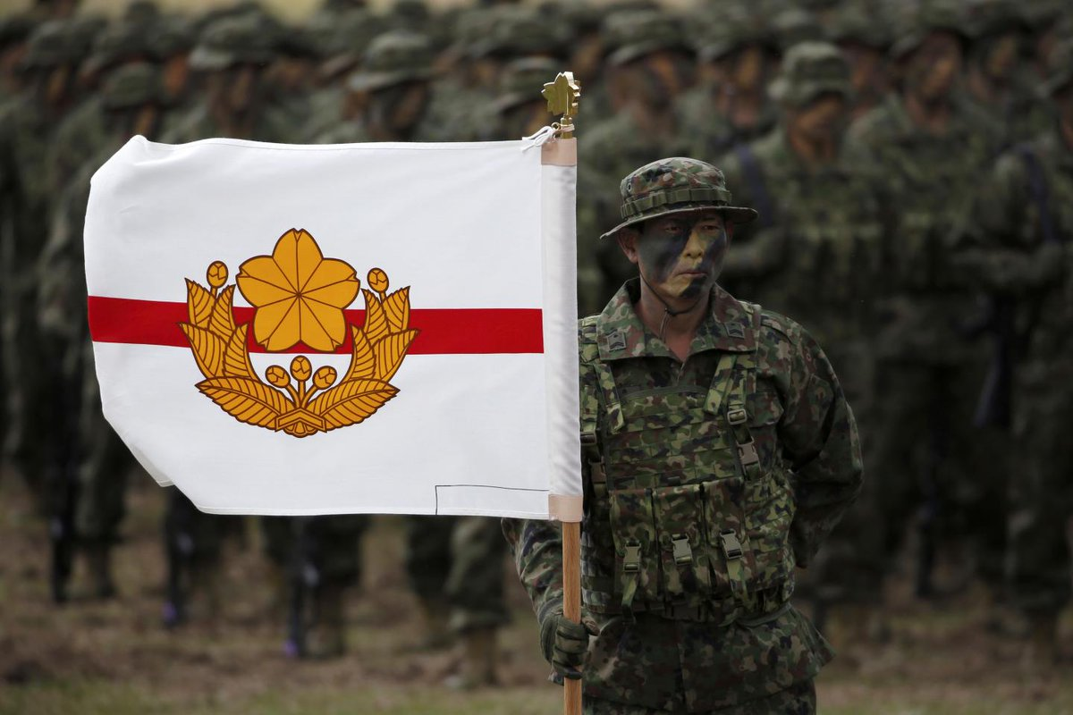 Japan's Marines are active for the first time since