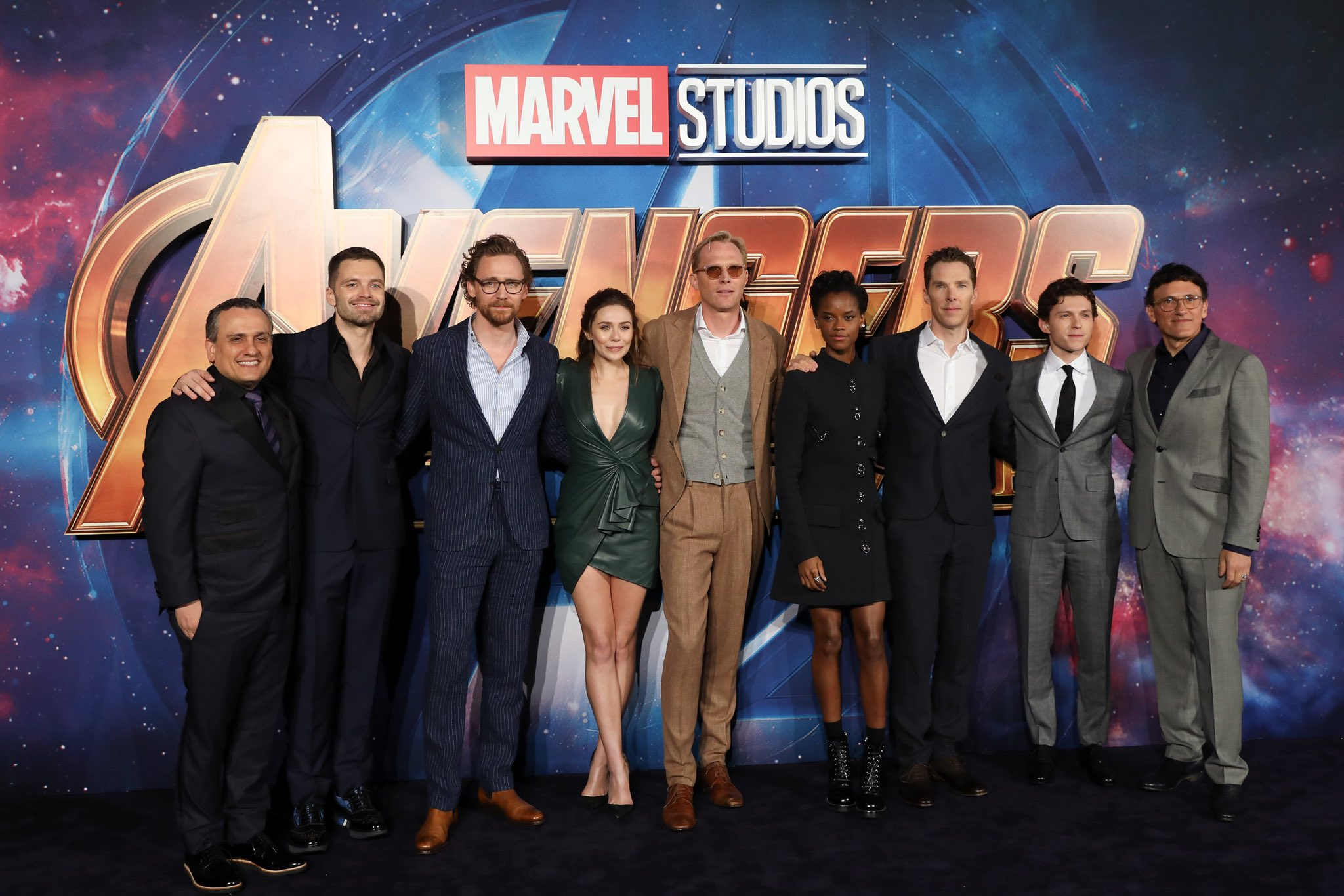 """See the photos from the Marvel Studios' """"Avengers: #InfinityWar"""" red carpet fan event in London! (1/3) https://t.co/mxixxixPkY"""