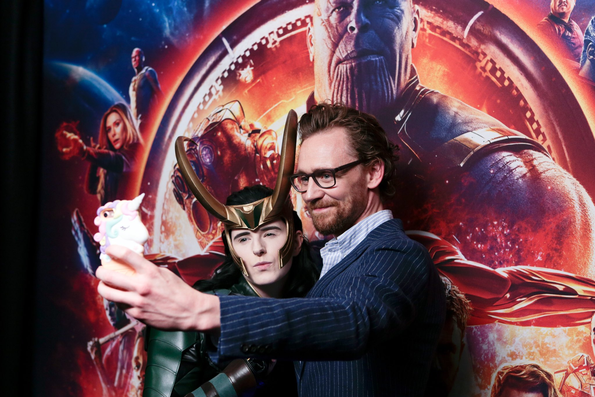 """See the photos from the Marvel Studios' """"Avengers: #InfinityWar"""" red carpet fan event in London! (2/3) https://t.co/QI9iN1mLYn"""