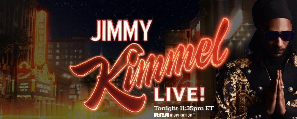 tune in tonight for some #BibleofLove on @JimmyKimmelLive ???????? https://t.co/mZ4ofrJmwt