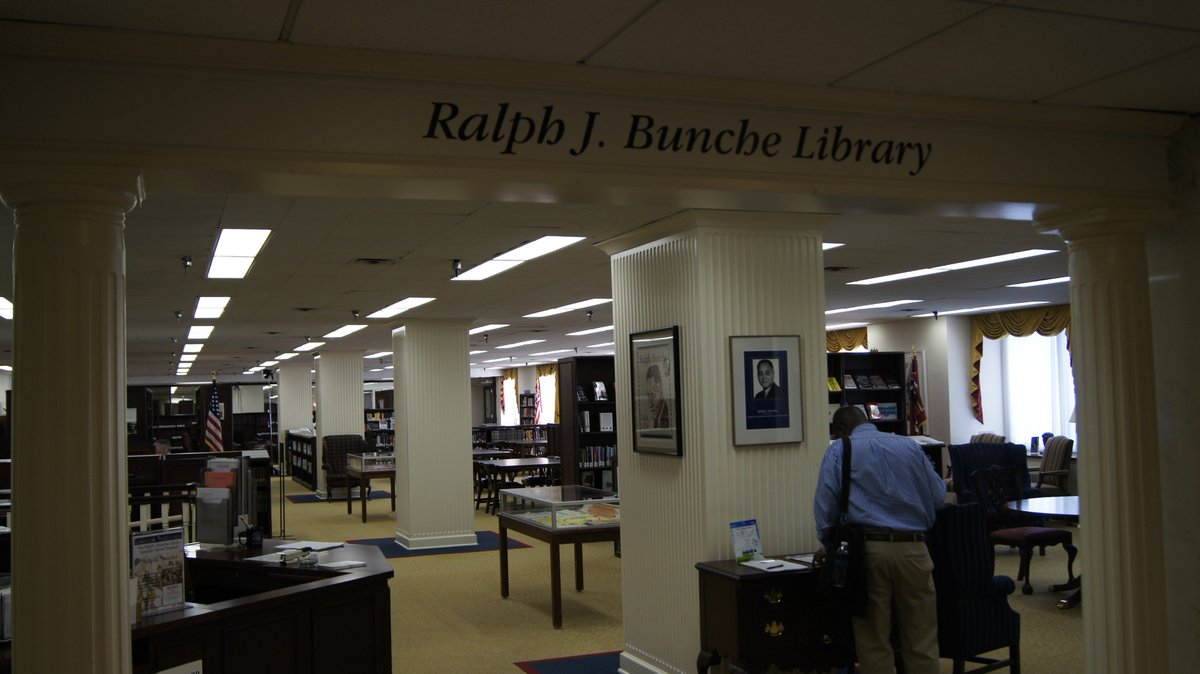 dyk the ralph j bunche library statedept is the oldest federal government library it