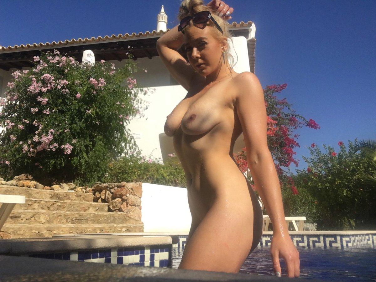 1 pic. Can't wait to go away tomorrow ✈️🏖 ☀️a repeat of this please!   #naked #pool #wet #sunshine #premarathonbreak