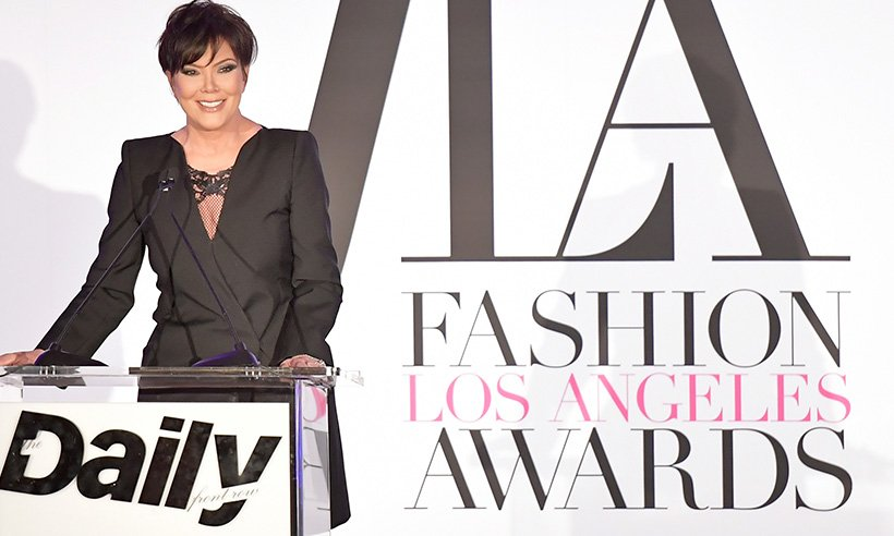 Kris Jenner proves there's absolutely no age limit on fishnet tights: