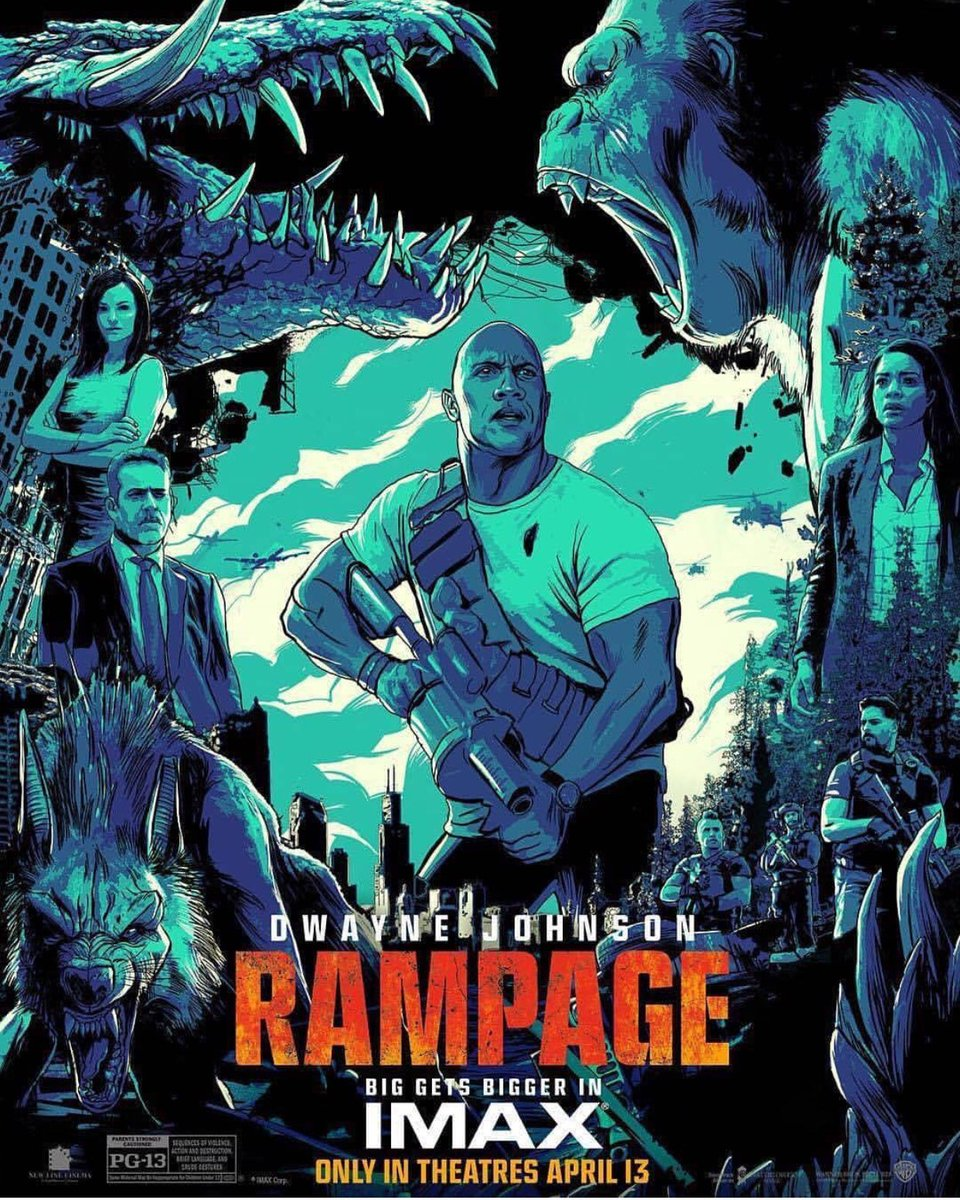 RT @JoeManganiello: See RAMPAGE in IMAX this Friday the 13th! https://t.co/xV83tzHH02