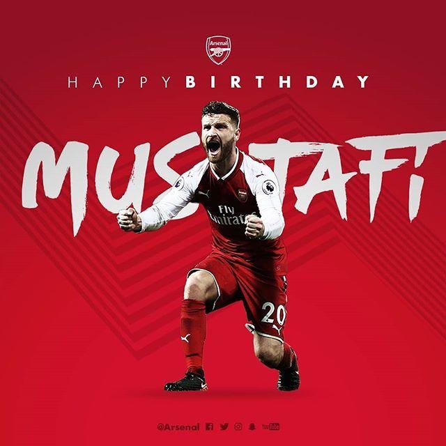 Happy birthday Shkodran Mustafi! -AUS