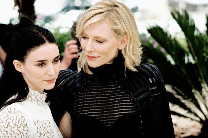 Happy Birthday, Rooney Mara! Our angel flung out of space