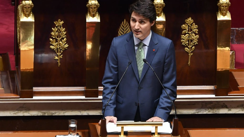 Trudeau urges nations to make Paris climate deal 'reality' in French parliament speech