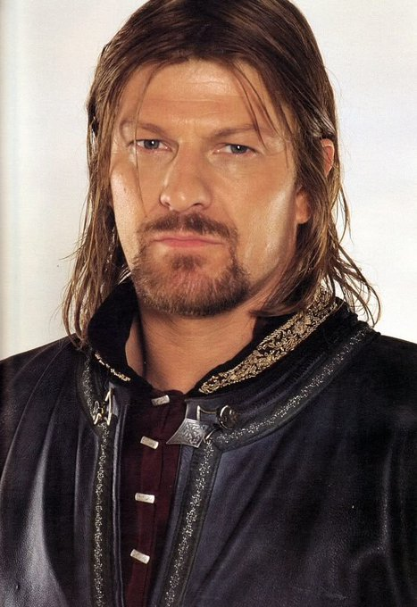 Happy birthday to me but more so to Boromir aka Sean Bean who is way hotter than Aragorn don t @ me