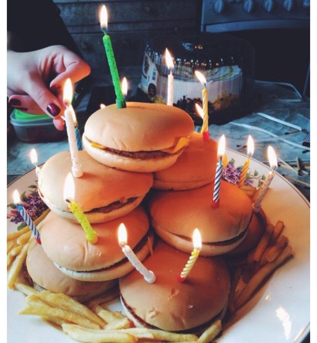 Торт из гамбургеров своими руками 66