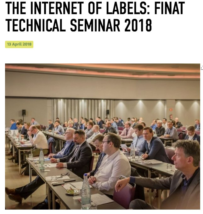 test Twitter Media - Labels, Labels, Labels! This conference is about the #label. The FINAT Technical Seminar runs focus on everything Label related in Barcelona. We're sure some great advances in label technology will be emerging at #itstick labels. https://t.co/hJfRERmfc5 https://t.co/fKCEKMmTSy