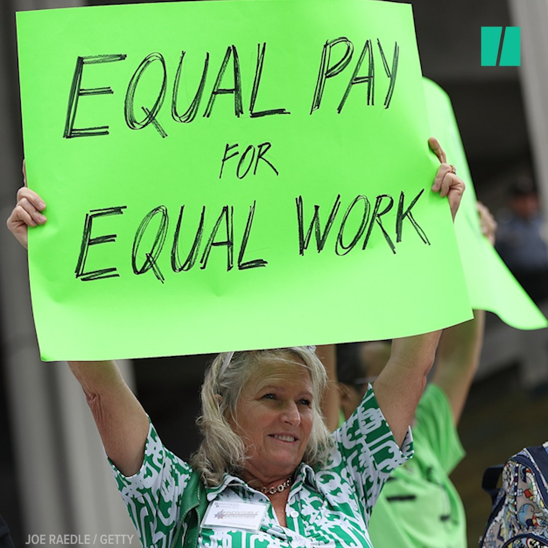 Today is #EqualPayDay, a reminder that the gender wage gap still impacts American women every day. https://t.co/eBMPtaQc2h