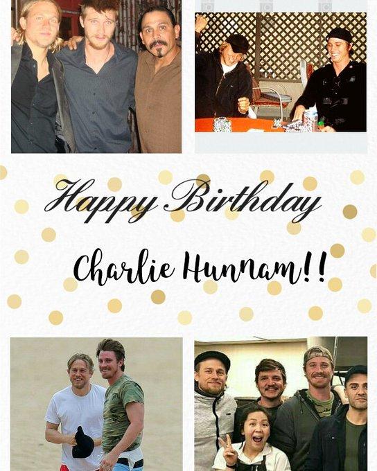 Happy Birthday Charlie Hunnam. Que essa amizade dure muitos anos!!
