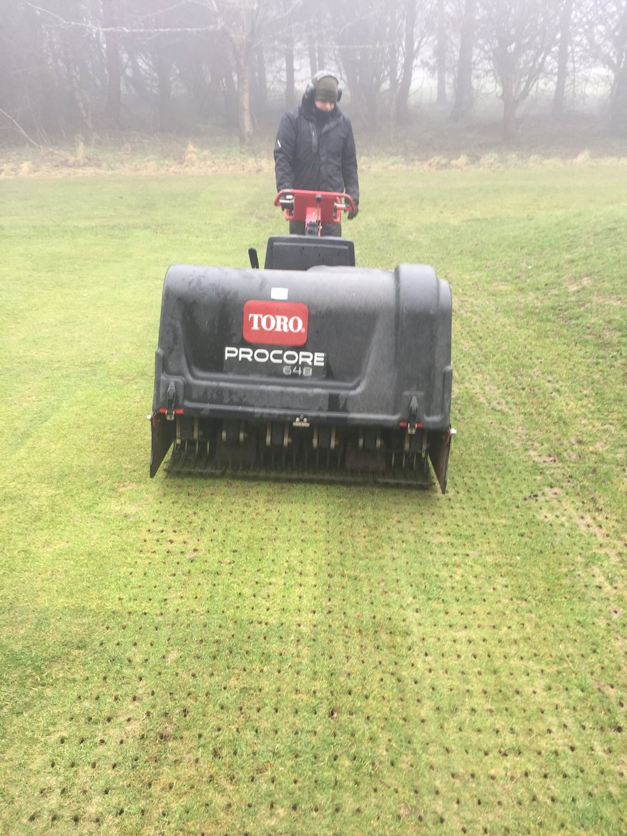 test Twitter Media - Solid tine on tees today followed by cold start fertiliser, 11.5.5+8fe https://t.co/D4JIg1tSSW