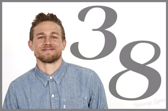 Hey, it\s this guys birthday happy Birthday Charlie Hunnam!!