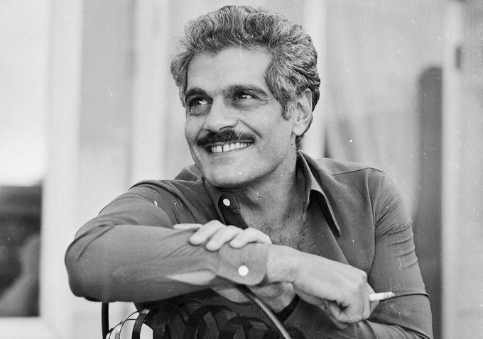 Happy birthday to Omar Sharif, a great actor and one of the hottest hotties of all time