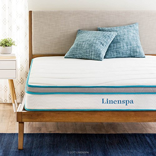 "https://t.co/Jdl9lUIgcZ - Linenspa 8"" Memory Foam and Innerspring Hybrid..."