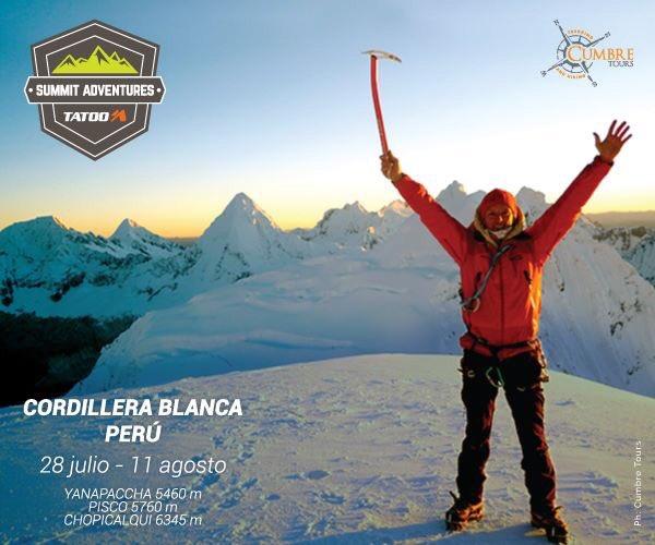 test Twitter Media - ::: CORDILLERA BLANCA PERÚ ::: Abrimos para este verano una expedición de nivel intermedio a las cimas emblemáticas de Perú: Yanapaccha 5460m - Pisco 5760m - Chopicalqui 6345m  29 Julio - 11 Agosto, 2018 Para más info: karl@cumbretours.com  @TatooAdventureG Summit Adventures https://t.co/8fyTr3S92V
