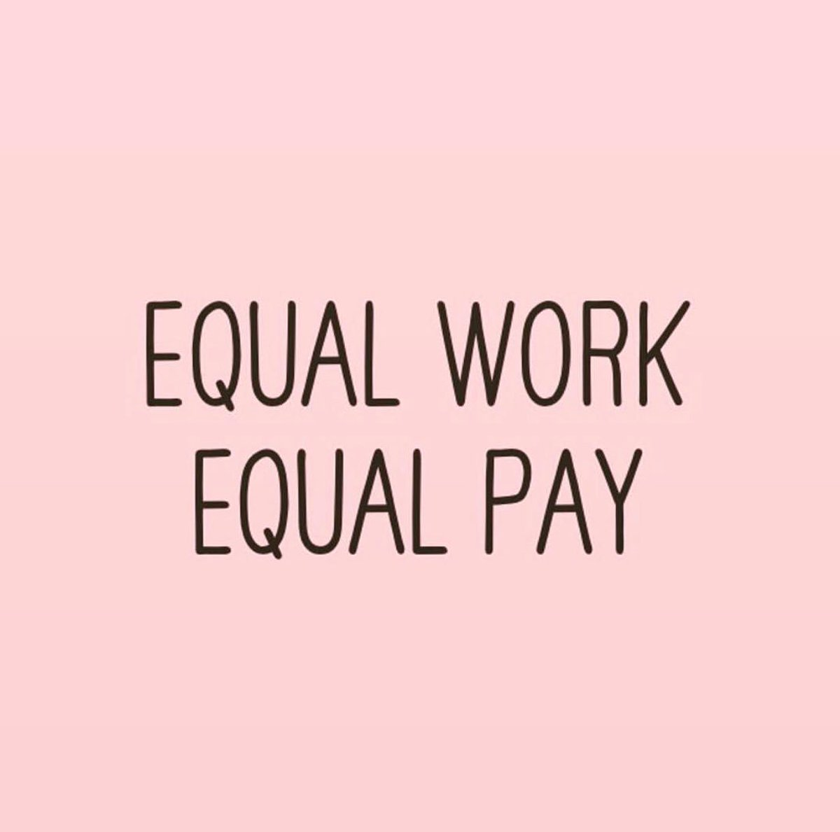 Enough is ENOUGH ???????? #EqualPayDay https://t.co/wkyWRWJDS1