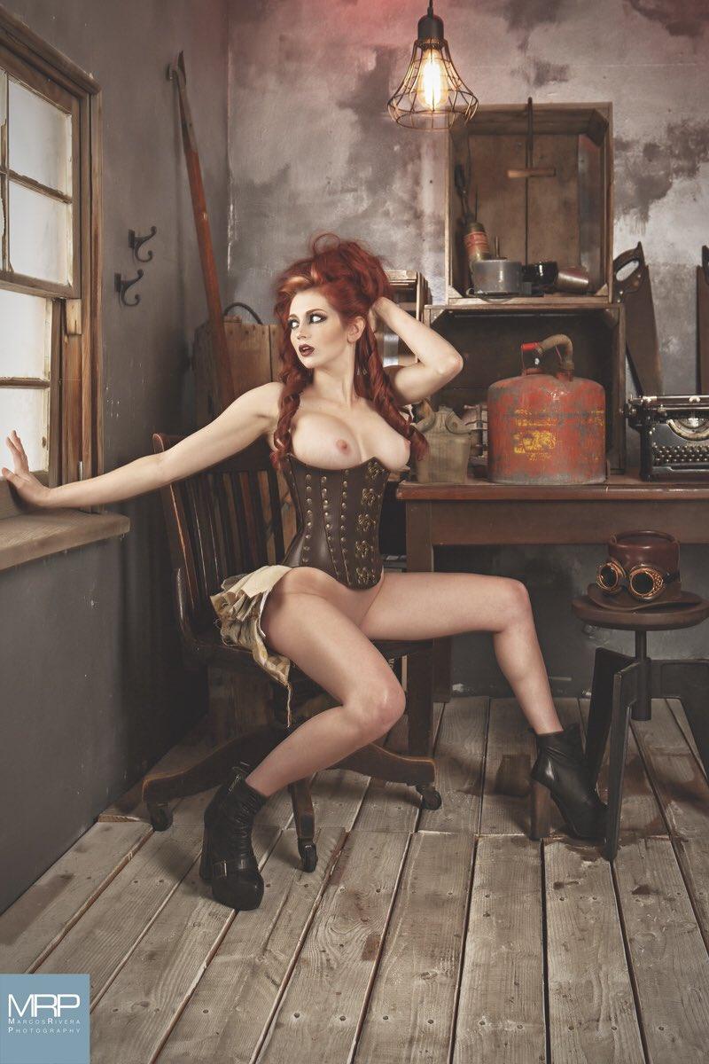 1 pic. #takemebacktuesday #takemeback to one of my all time favorite shoots with 📷 Marcos Rivera #steampunk