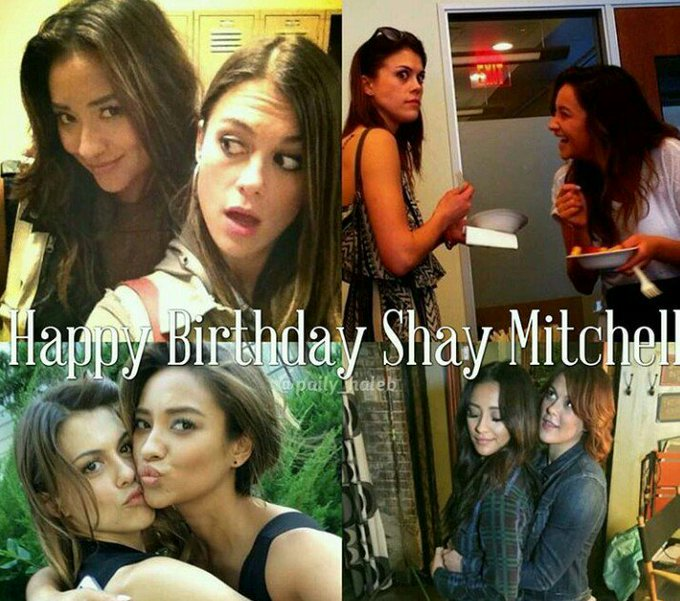 Happy Birthday  Shay Mitchell