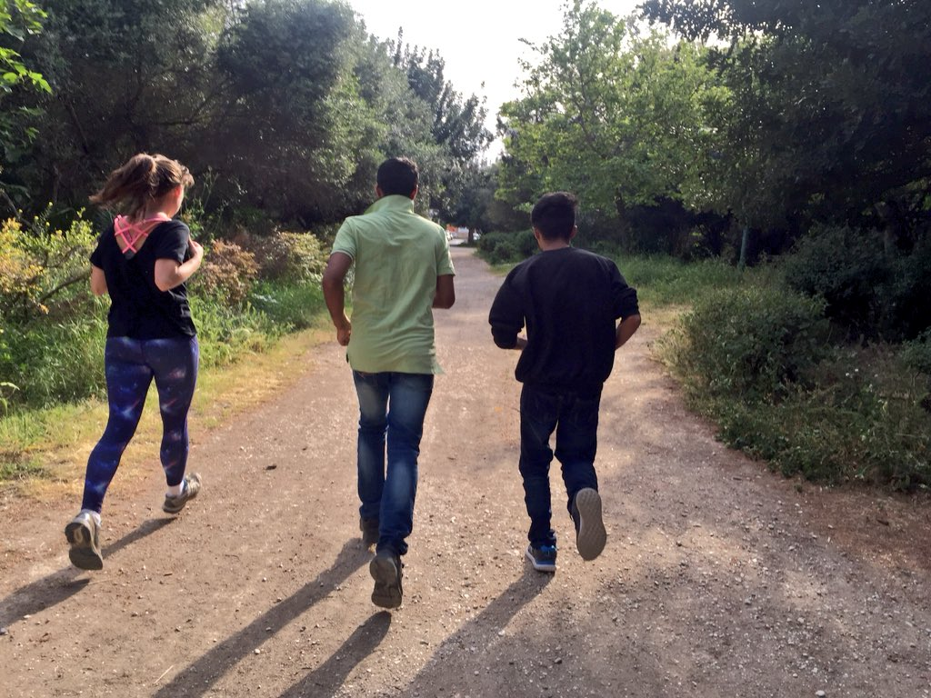 "test Twitter Media - ""Running is the greatest metaphor for life. You get out of it what you put into it."" Which is why we encourage our young people to visit the park at least once a week and to enjoy exercising.  #time2Bwelcome #erasmusplus #WednesdayWisdom #workout https://t.co/yY9A2AWT1R"