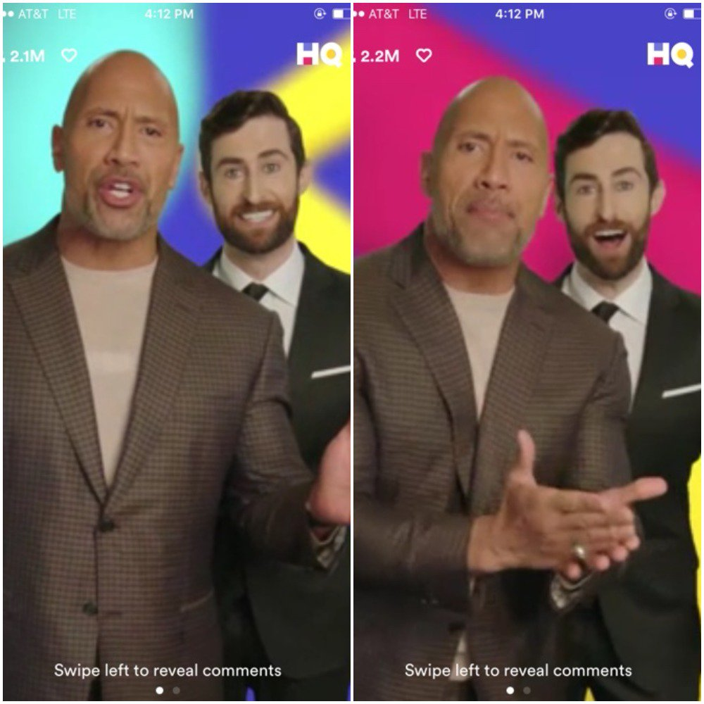 RT @ForTheWin: You know you want to re-watch @hqtrivia with @TheRock hosting it.  https://t.co/capqSWvrt7 https://t.co/Q4wiCto693