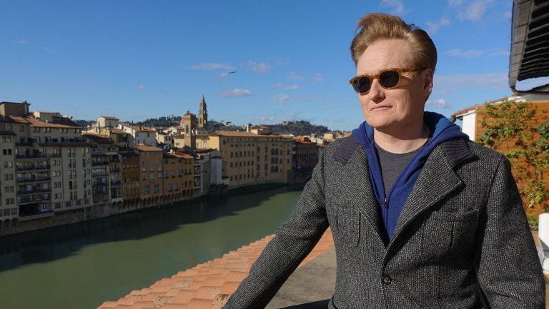 Conan O'Brien discovers Tuscan wine, hunts for truffles in Italy travel special