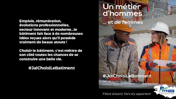 J-7 de la campagne de promotion des métiers lancée par la @FRB_Bretagne, choisir le bâtiment, c'est se donner toutes les chances de réussir sa vie #JaiChoisiLeBatiment https://t.co/UJV1O5rQOR