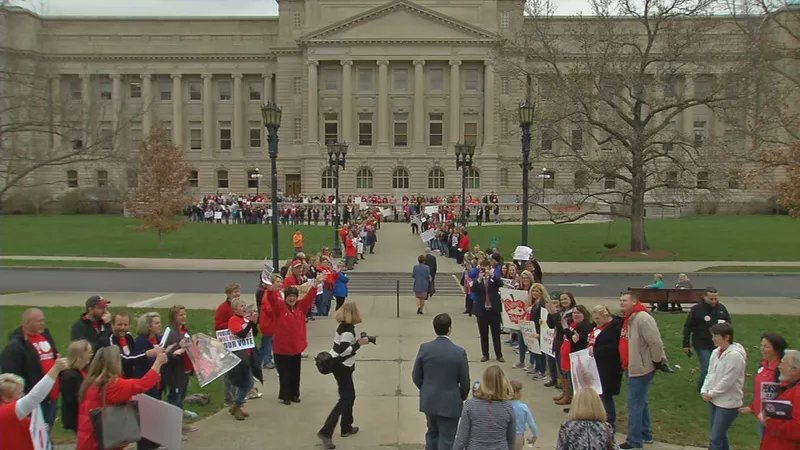Growing number of Kentucky schools to close Friday because of teacher rally