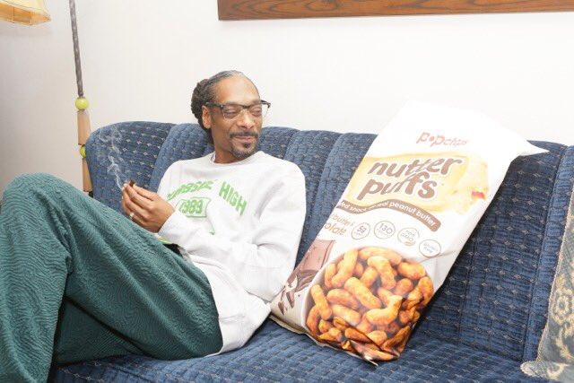 Shout out 2 @nutterpuffs from @popchips oohwee.  #puffpuffpass #getpuffed  #ad https://t.co/pMHW5em6eL